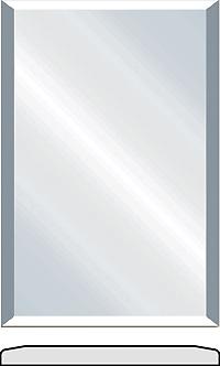Topaz Vinyl wrapped cabinet doors