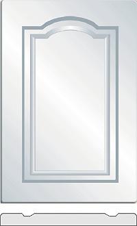 Monarch Vinyl wrapped cabinet doors