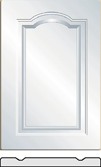 Premier Vinyl wrapped cabinet doors