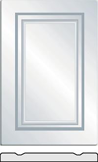 President Vinyl wrapped cabinet doors