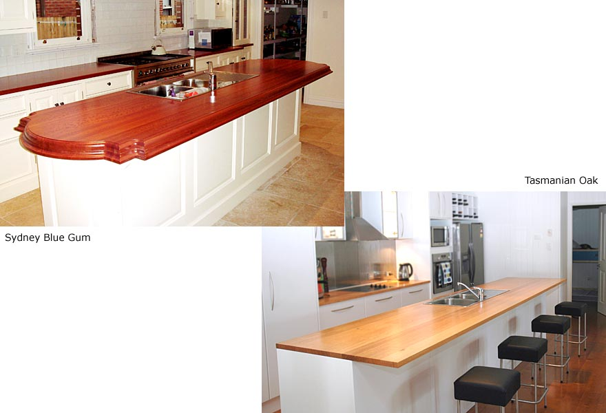 DOMESTICS - Kitchens, Blue Gum / Tasmanian Oak