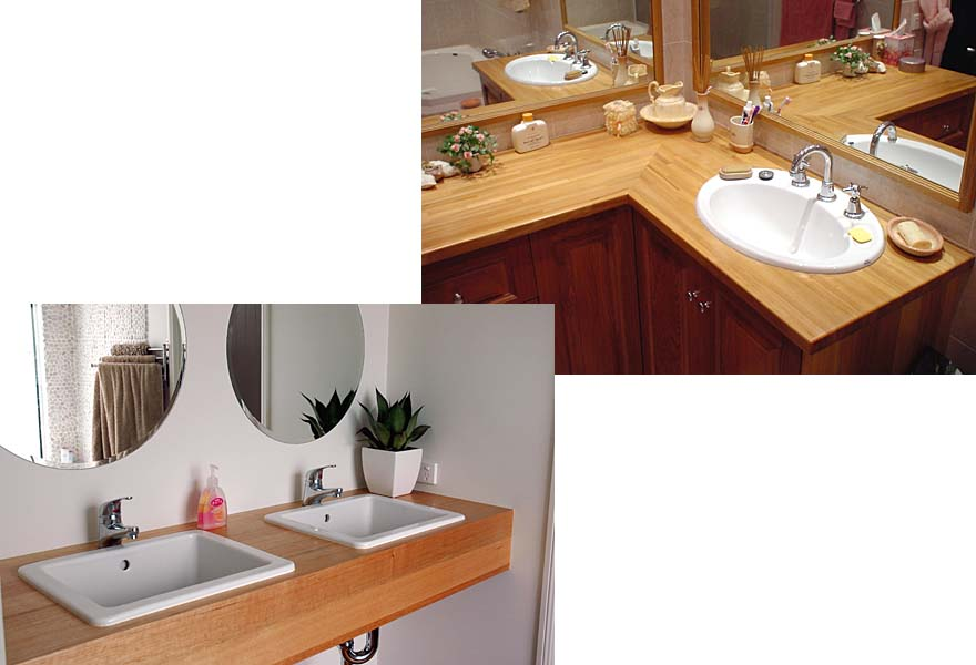 DOMESTICS - Bathrooms, Victoria Ash & European Oak