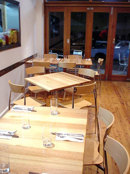TABLES & COUNTERS - Red Tomato Restaurant, Victorian Ash