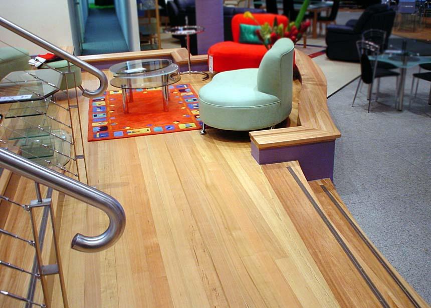 STAIRS - Nick Scali - Tasmanian Oak