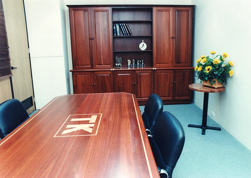 OFFICES & RECEPTIONS - Board Table - Jarrah