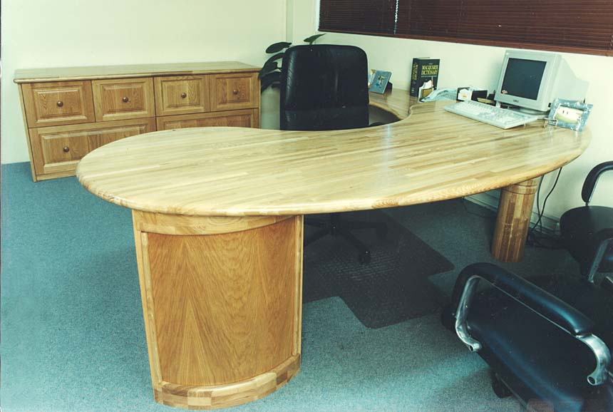 OFFICES & RECEPTIONS - Executive Furniture - European Ash
