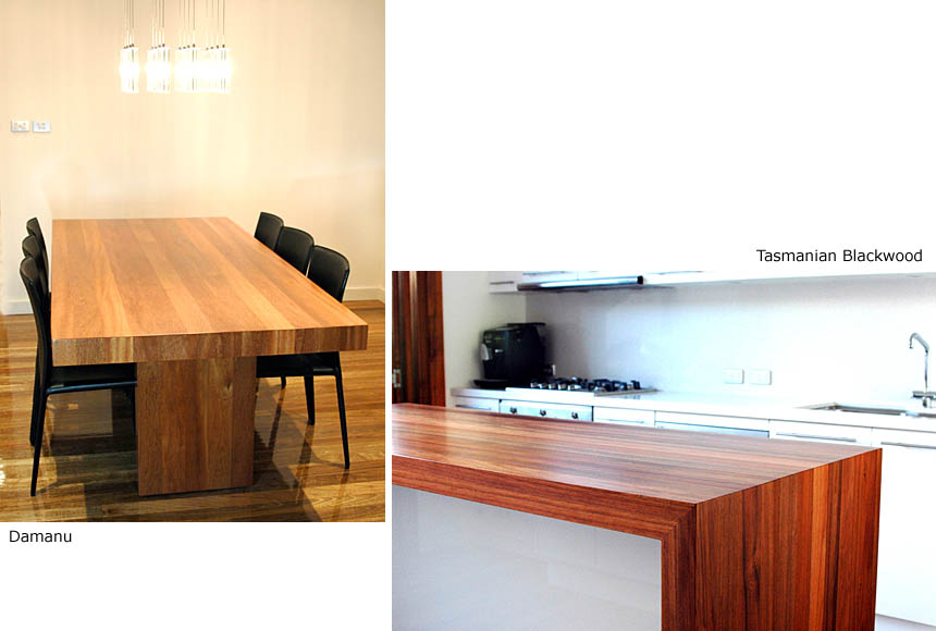 DOMESTICS - Kitchens, Damanu / Tasmanian Blackwood