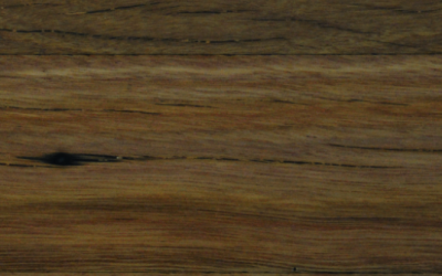 Polished Recycled Brown Hardwood with Corner Leg