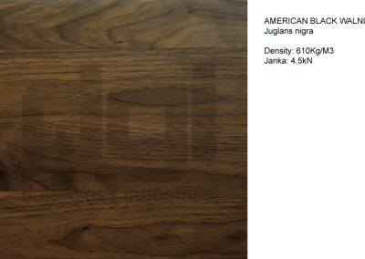 American Walnut (wide strips)