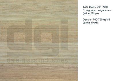 VIC ASH / TAS OAK (wider strips)